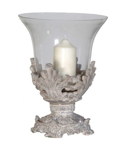 Decorative Candle Holder with Glass