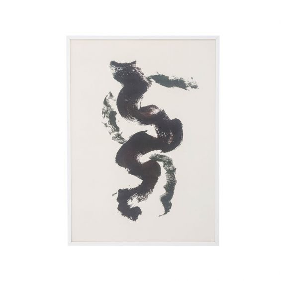 A luxurious abstract print