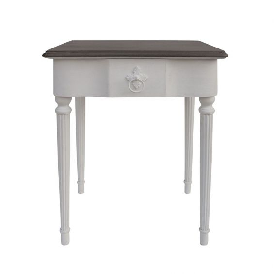 Kate Bedside Table - White