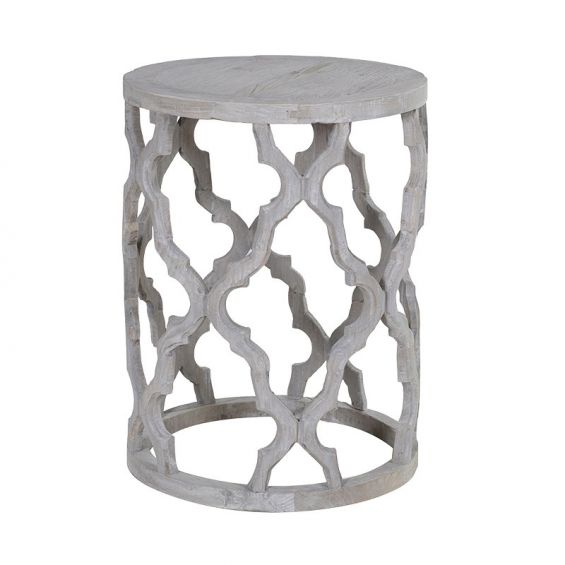 Round Decorative Side Table