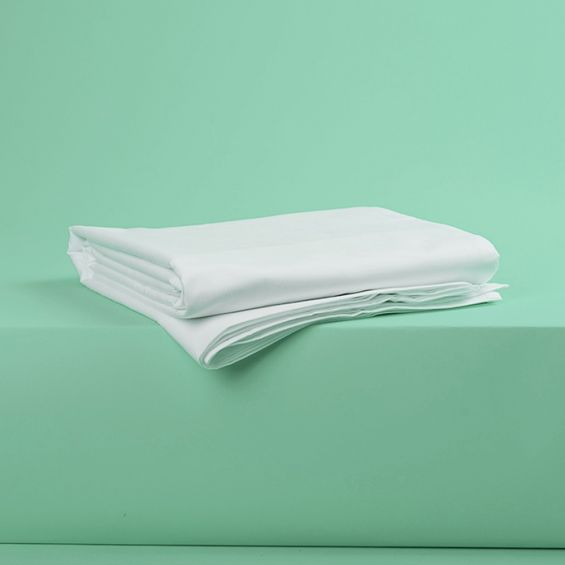 Luxury classic hotel 300tc white fitted sheet