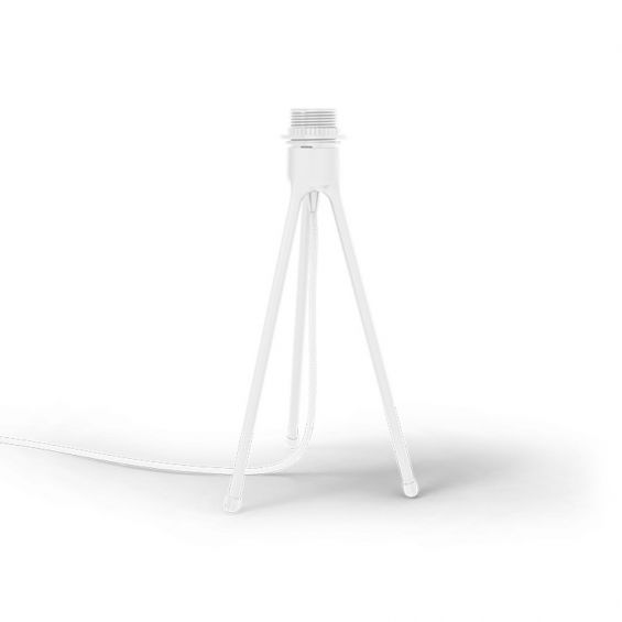 Table tripod for lampshade in white