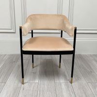 Clearance Laskasas Dale Chair - Vienna Champagne - Set of 6