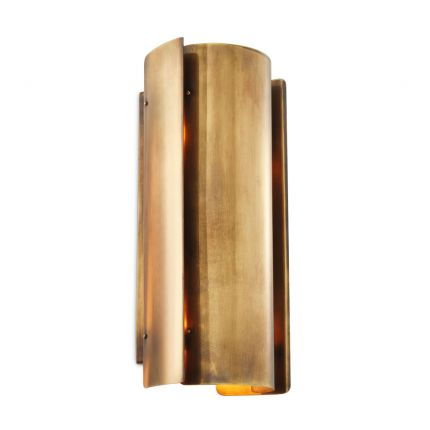 Contemporary vintage brass wall light by Eichholtz