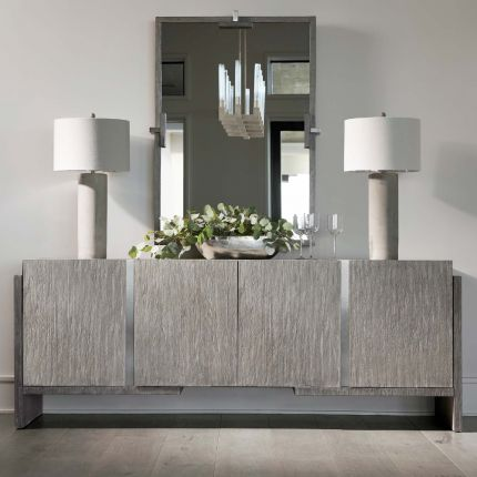 A wonderful and rustic sideboard with 4 doors.