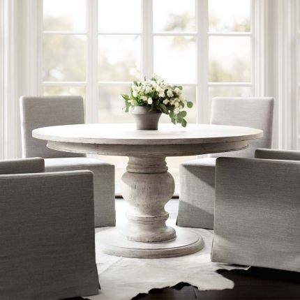 Greco-inspired dining table
