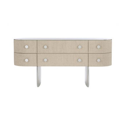 Retro inspired chest of drawers