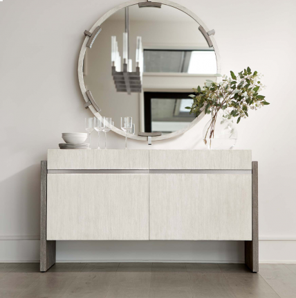 Beautiful two-toned sideboard with two doors