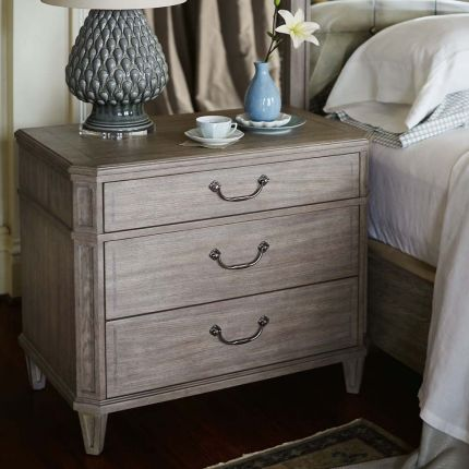 Delicate and sweet bedside table.