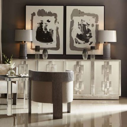 Gorgeous, Art Deco inspired cabinet