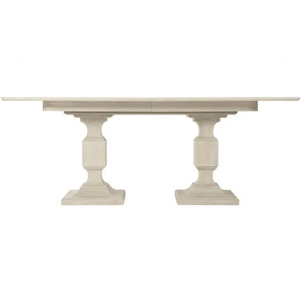 modern dining table with traditional features