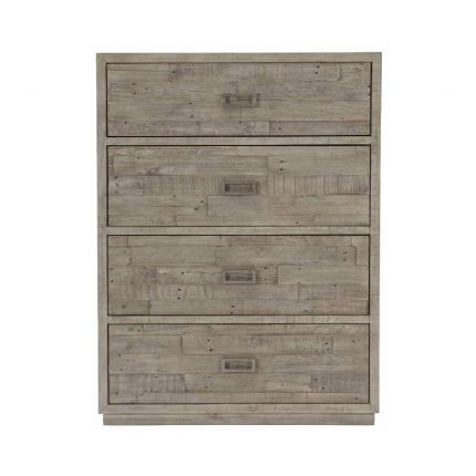 Elegant and chic tallboy dresser with 4 drawers.