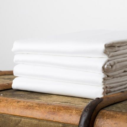 Tielle Soft & Strong 400tc Fitted Sheet
