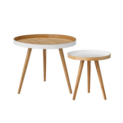 Bloomingville Cappuccino Coffee Tables - Set of 2
