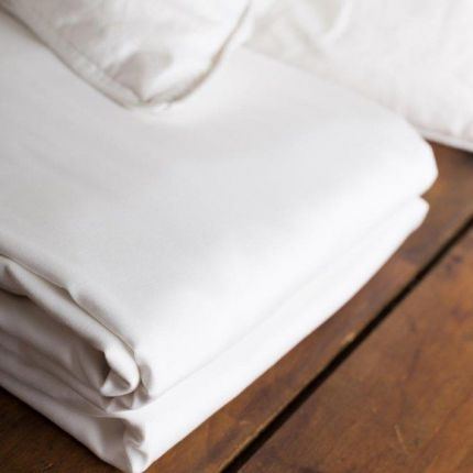 tielle classic hotel 300 thread count duvet cover white