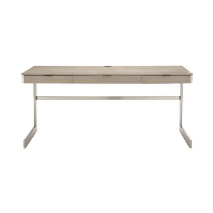 Scandinavian style desk with three soft-close drawers