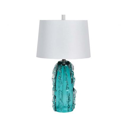Gorgeous green-blue table lamp