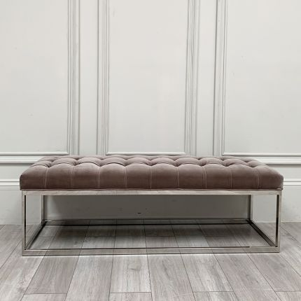 Clearance Isla Buttoned Bench