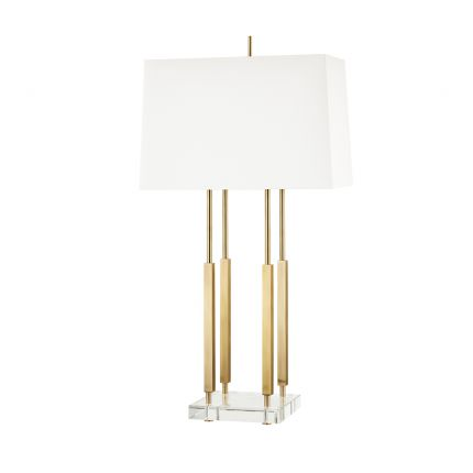 Hudson Valley Rhinebeck Table Lamp – Aged Brass
