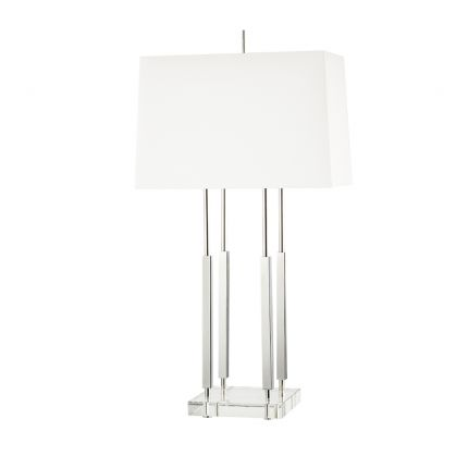 Hudson Valley Rhinebeck Table Lamp – Polished Nickel