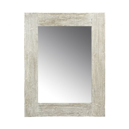 Luxurious rustic wooden wall mirror