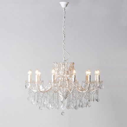 Classic French 12 arm chandelier
