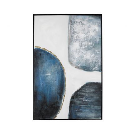 an artistic abstract hand painted painting