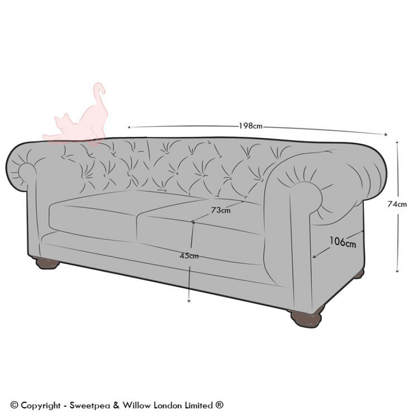 2.5 Seater- 6ft