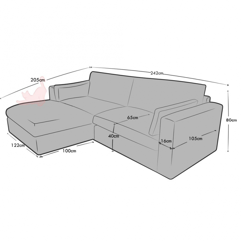 3 Seat and Footstool set (3 part)